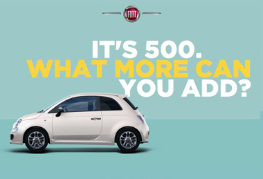 The New Website Dedicated To The Family Is Now On Line - Fiat 500 website