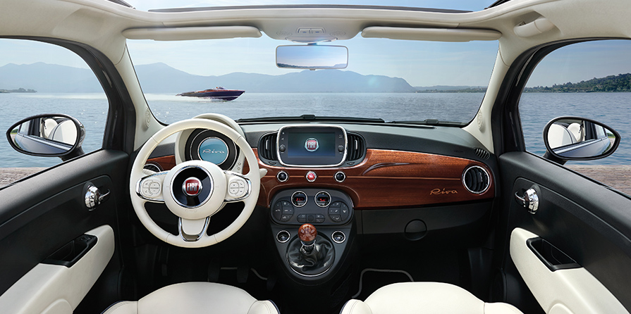 New Fiat 500 Riva The Special Edition Of Fiat 500 Fiat